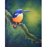 Allure Azure Kingfisher by Katherine Castle